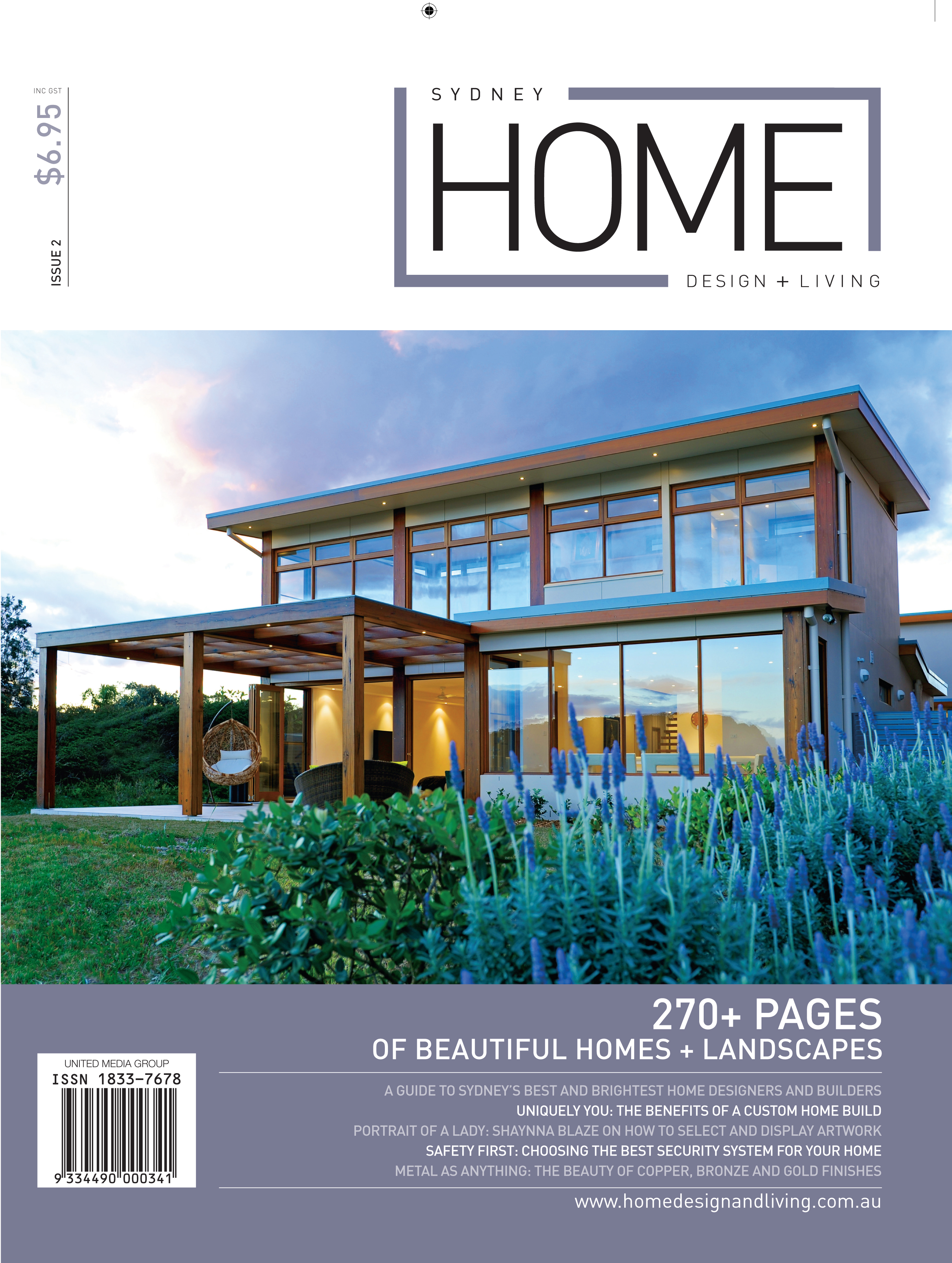 home design + living magazines - united media group