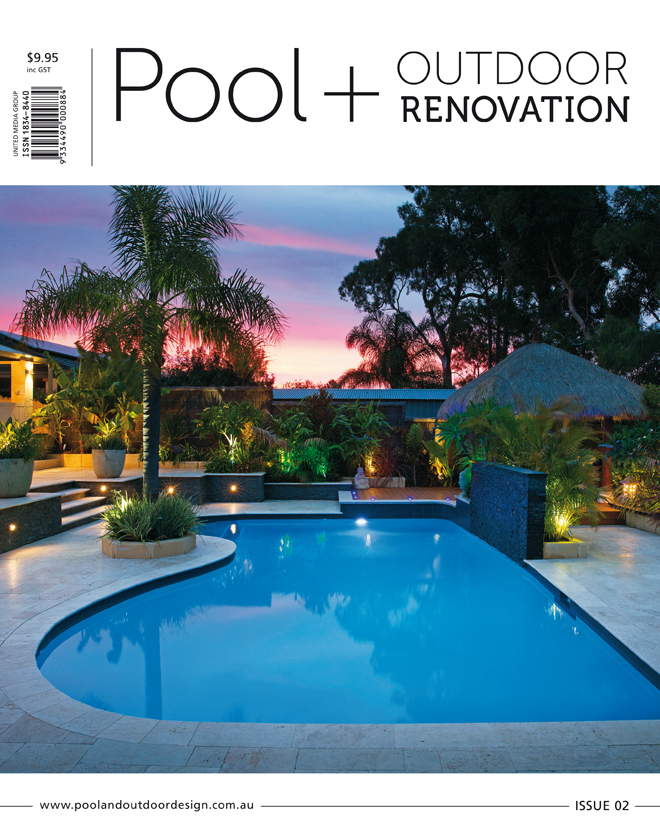 Pool and outdoor renovation magazine