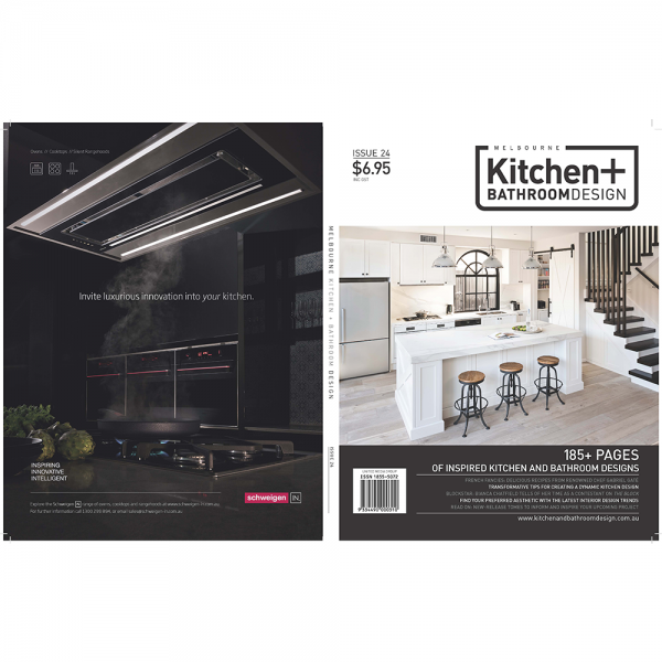 Melbourne Kitchen + Bathroom design - Issue 24